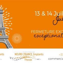 14 Juillet NEURO FRANCE Implants