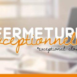 Fermeture Exeptionnelle NFI NEURO FRANCE