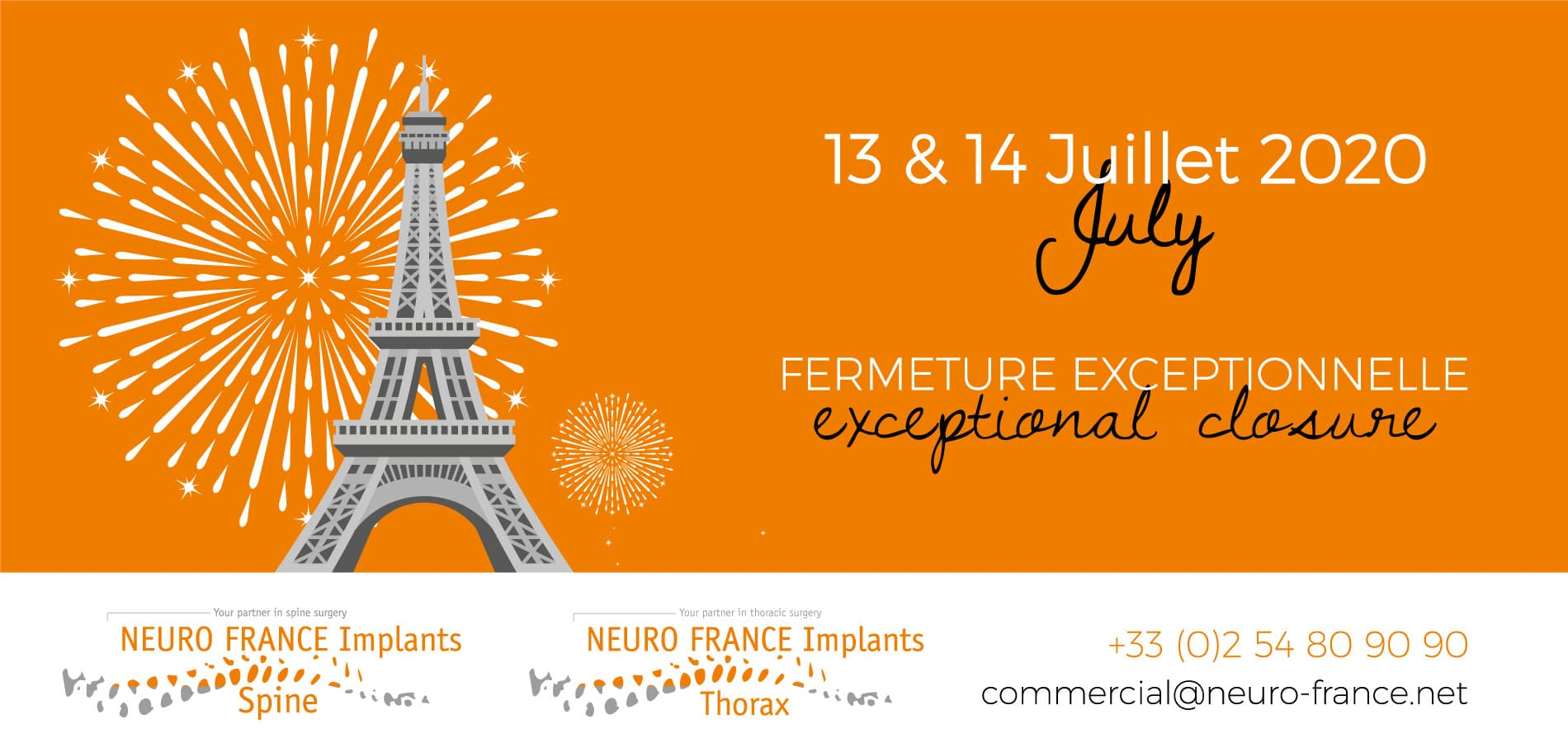 14 Juillet NEURO FRANCE Implants