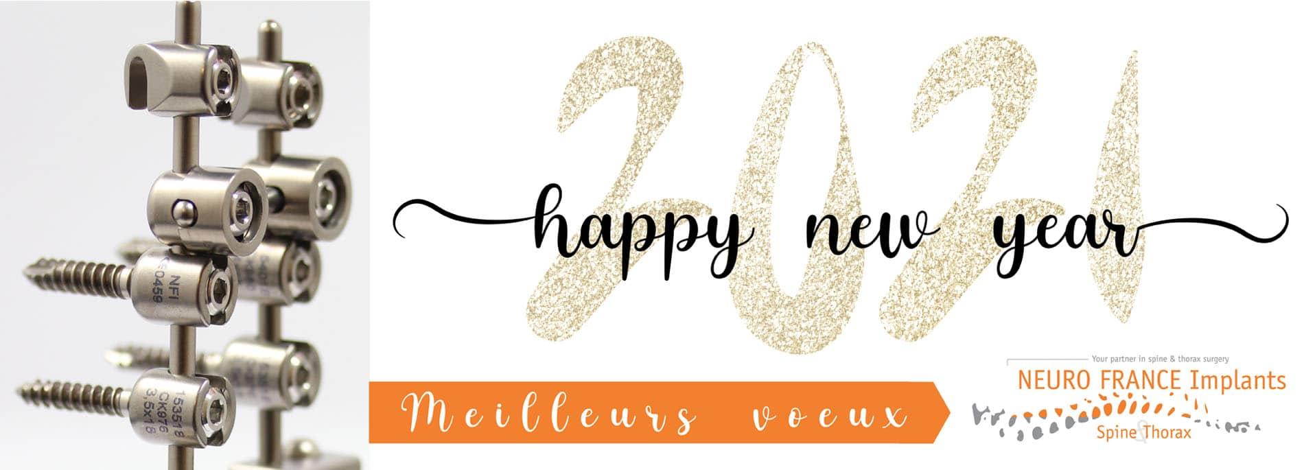 Happy new year 2021 Neuro France Implants Site Internet